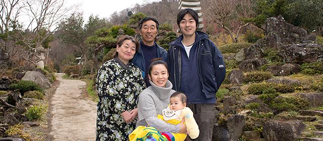 家族写真 2013年12月撮影